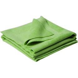 Flexipads Ręczniki polerskie z mikrofibry zielone 40 x 40cm (2 szt.)