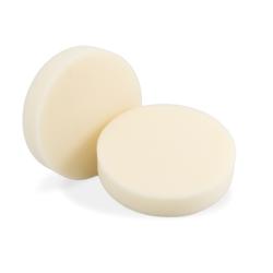 Flexipads Aplikatory polerskie okrągłe z gąbki koloru kości słoniowej ultra delikatne wykończenia