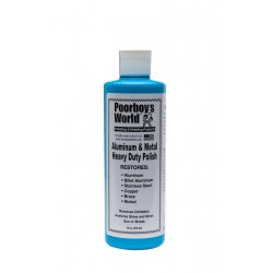 Poorboy's World Aluminum & Metal Polish 473ml
