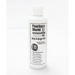 Poorboy's World Bold N Bright Tire Dressing Gel 473ml