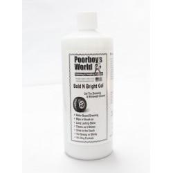 Poorboy's World Bold N Bright Tire Dressing Gel 946ml