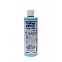Poorboy's World Polish with Carnauba Wax Blue 473ml
