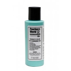 Poorboy's World Polish with Carnauba Wax Blue 118ml tester