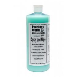 Poorboy's World Spray & Wipe Waterless Wash 946ml