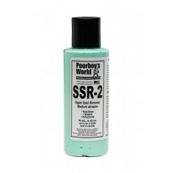Poorboy's World SSR 2 Medium Abrasive Swirl Remover 118ml
