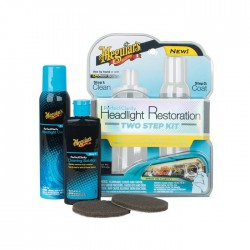 Meguiar's Perfect Clarity 2-step Headlight Kit