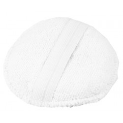Monster Shine White Round Microfiber Applicator