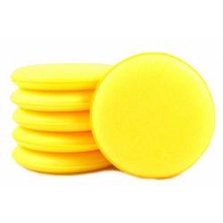 Monster Shine Aplikator żółty gąbkowy do wosku 1 szt.
