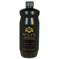 Wolf's Chemicals Tyre and Trim Gel Black Out 1L