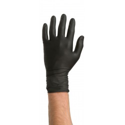 Colad Nitrile Gloves Black M 10 pieces