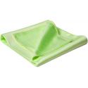 Flexipads Ręcznik polerski z mikrofibry do szyb zielony 55x63cm